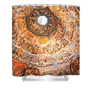 Brunelleschi Cupola Of Florence Duomo. Shower Curtain