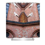 Buda Reformed Church Architectural Details Shower Curtain
