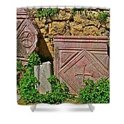 Byzantine Cross In Myra-turkey Shower Curtain