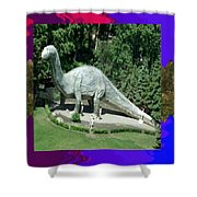 Canadian Dinosour Museaum    Canada Is Rich In Fossils Especially The Provinces Of Alberta And Bri Shower Curtain