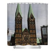 Cathedral Bremen - Germany Shower Curtain