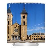 Cathedral Of The Plains Shower Curtain