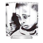 Children Should Not Be Sad ... Shower Curtain