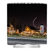 Christmas Celebration At Billy Graham Shower Curtain