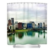 City Of Roses  Shower Curtain