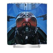 Colonel Dave Dollarhide Shower Curtain