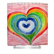 Colourful Dreams Shower Curtain