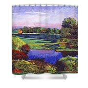 Country View Estate Shower Curtain