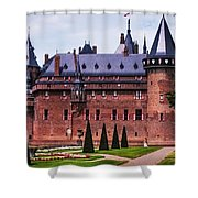 De Haar Castle 4. Utrecht. Netherlands Shower Curtain by Jenny Rainbow