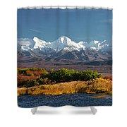 Denali's Path Shower Curtain