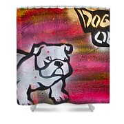 Dogged Out 1 Shower Curtain