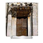 Doorway To The Duomo Shower Curtain