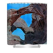 Double Arch - Arches National Park Shower Curtain