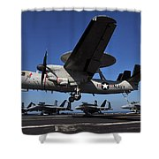 E2c Hawkeye Shower Curtain