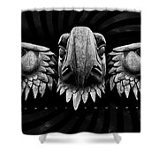 Eagle Square Shower Curtain