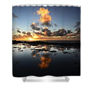 Earth Third Planet From The Sun Shower Curtain