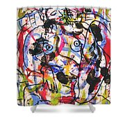 Erotic Nude Shower Curtain