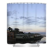 Evening In Capitola Shower Curtain