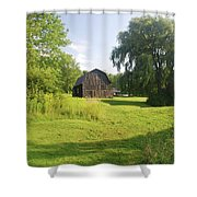 Evergreen Trails 7523 Shower Curtain
