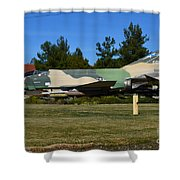 F-4c Phantom II Cang Shower Curtain