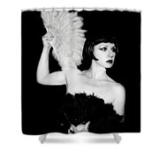 Feather Dancer Shower Curtain