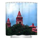 Flagler College St Augustine Fl Shower Curtain