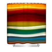 Fury Sea 3 Shower Curtain