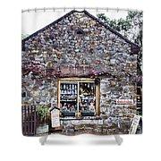 German Stone Cottage Shower Curtain