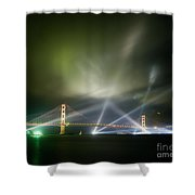 Golden Gate At Fifty Shower Curtain