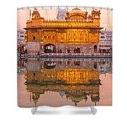 Golden Temple - Amritsar Shower Curtain