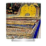 Gorgeous  Berber Rugs In Tangiers-morocco Shower Curtain