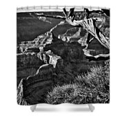 Grand Canyon Hermit View Shower Curtain