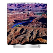 Grand View Point Overlook Shower Curtain