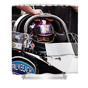 Hillary Will Las Vegas Motor Speed Way Strip Nhra Finals 2008 Shower Curtain