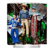 Icons Shower Curtain