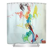 If You Follow Me For One You Will Not Lose 1 Shower Curtain