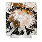 Ignition Shower Curtain