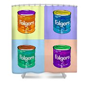 In Loving Memory Of Donny Who Loved Bowling  Set Of 4 Shower Curtain