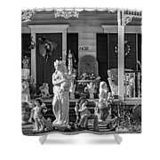 In Praise Of Everything Bw Shower Curtain
