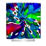 Iphone Cases Colorful Rich Bold Abstracts Cell Phone Covers Carole Spandau Cbs Designer Art 164  Shower Curtain