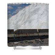 Jones Island Salt 1 Shower Curtain