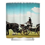 Journey Into The Past Shower Curtain