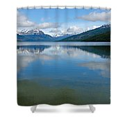 Lago Roca In Tierra Del Fuego National Park Shower Curtain