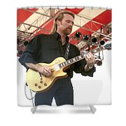 Lee Roy Parnell Shower Curtain
