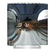 Travel Together 1 Shower Curtain