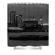 London Docklands Shower Curtain