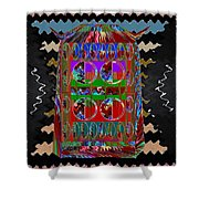Magic Lamp Lights Up And Ask For 3 Wishes Chant 3 Times Jaag Jaag Kismat Shower Curtain