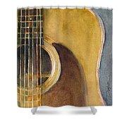 Martin Guitar D-28  Shower Curtain