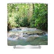 Mayfield Falls Jamaica Shower Curtain