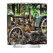 Mccormick Deering Tractor Shower Curtain